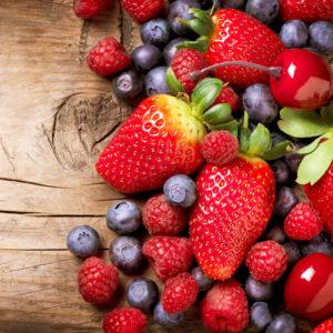 Bagas e frutos